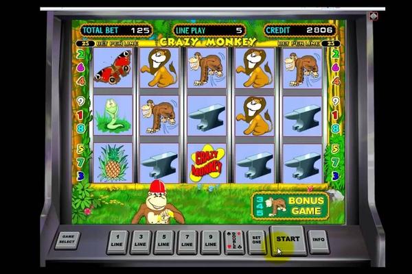 игры онлайн автоматы обезьянки
